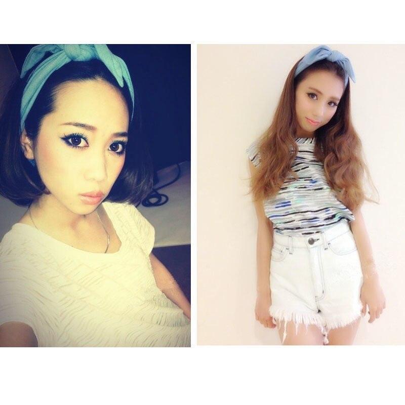 tienda online estilo coreano mujeres de ancho de color slido diadema de tela cintas para el pelo arco hairbands de la joyera para las nias pelo - Diademas De Tela