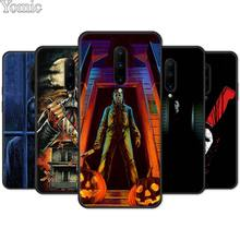 Michael Myers Halloween Black Case for Oneplus 7 7 Pro 6 6T 5T Soft Cover Shell for Oneplus 7 7Pro Silicone Phone Case