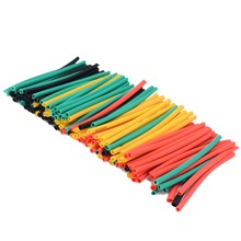 Mayitr 328pcs Polyolefin 2:1 Heat Shrink Tubing Tube Set Electrical Wrap Wire Cable Sleeving Kit