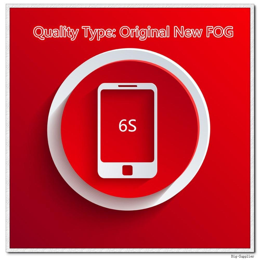 Prix pour 5 pcs/lote originale nouvelle brouillard une qualité écran pour 6 S écran LCD noir / blanc