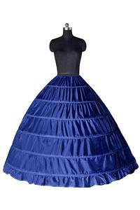 Image 4 - Biały 6 Hoops halki dla suknia ślubna krynolina podkoszulek tanie ceny akcesoria ślubne dla Brial suknia balowa