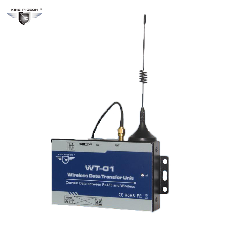 Wireless Data Converter for RS485 Device Data Transmission into RF Transmission Remote I/O Data acquisition modules WT-01 цены онлайн