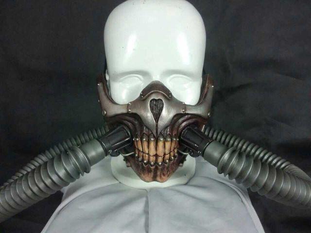 immortan joe mask mad max 4 fury road cosplay cool fiberglass half face gas mask halloween