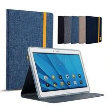 """Mediapad m2 10.0 moda tablet case cubierta de tela jean a01l a01w 10.1 """"fundas estuches para huawei mediapad m2 10.0 10.0-A01W"""