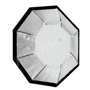 Image 5 - Godox 95 centímetros 120 centímetros 140 centímetros Estúdio Octagon Favo De Mel Grade Softbox Refletor softbox com Bowens Monte para Estúdio Strobe a Luz do Flash