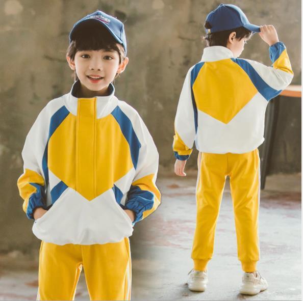 Boys suit, colouring sports uniform 2019 new children suit boy  girls clothes 10 12 year  boys clothing