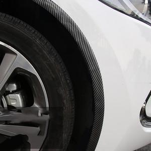 Image 5 - Adesivi per auto In Fibra di Carbonio di Gomma Per Lo Styling Porta di Protezione Del Bordo di Merci Per Hyundai Santa Fe i40 Creta Tucson HB20 ix20 ix25