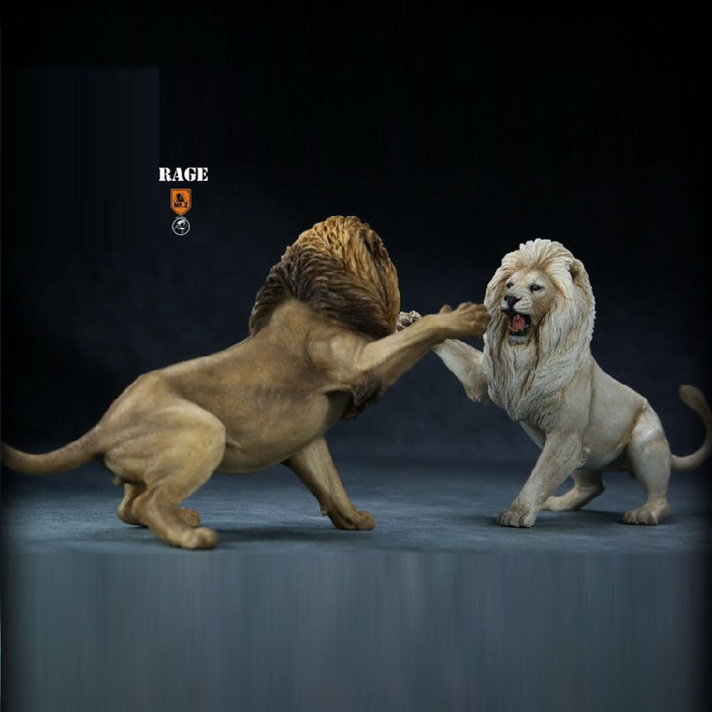 Scene-Accessories Hyena-Set Soldier-Element Animal-Model Spotted 1/12-Soldier VS Lion