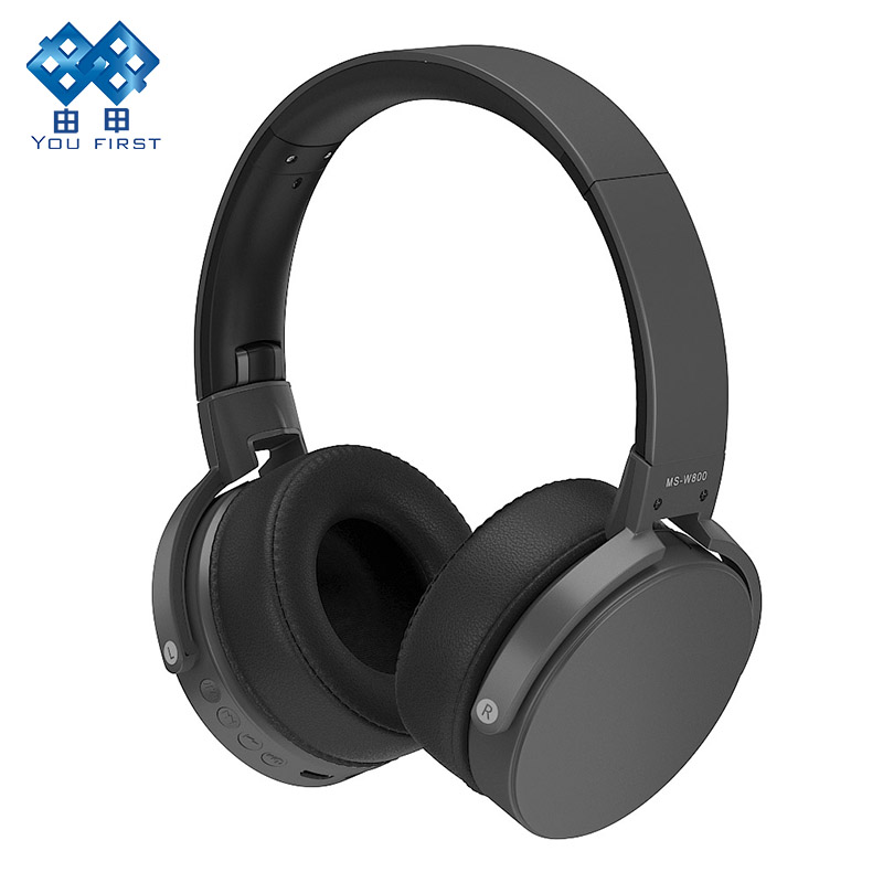 Earphones And Headphone Wireless Bluetooth Sport Gaming Headphones HandsFree Noise Cancelling Stereo With Microphone For Phone