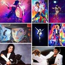 Cartoon Diamond Embroidery Dancer 5d Diy Painting Michael Jackson Diamant Character Mosaic Home Decor Gift Y29