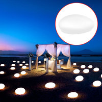 Garden LED Ball Light Stone Lamp RGB Home Decor Path Lights Outdoor Eco Friendly Poolside Party
