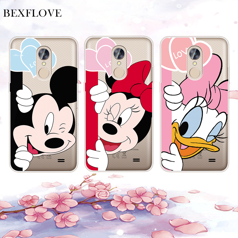 For Huawei P20 Pro Lite Case For Huawei P Smart Case Cover Silicone Minnie Mouse Phone Case Coque For Huawei P20 Case Shell