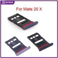 Witrigs soporte para tarjeta SIM ranura para Huawei Mate 20 X|Bandejas para tarjeta SIM/SD|Teléfonos y telecomunicaciones -