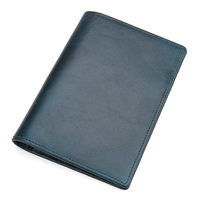 J.M.D Genuine Leather Passport Cover Designed for Russian Federation Card Holder Business Travel Passport Case R 8437
