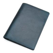 J.M.D Genuine Leather Passport Cover Designed for Russian Federation Card Holder Business Travel Passport Case R-8437