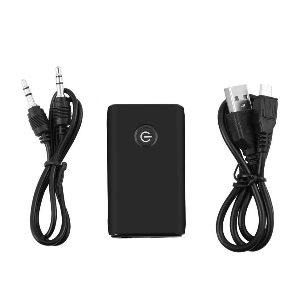 Funkadapter Sporting Bluetooth 4,0 Empfänger Sender 2-in-1 3,5mm Wireless Audio Adapter Für Tv Zuhause Sound System Jade Weiß Unterhaltungselektronik