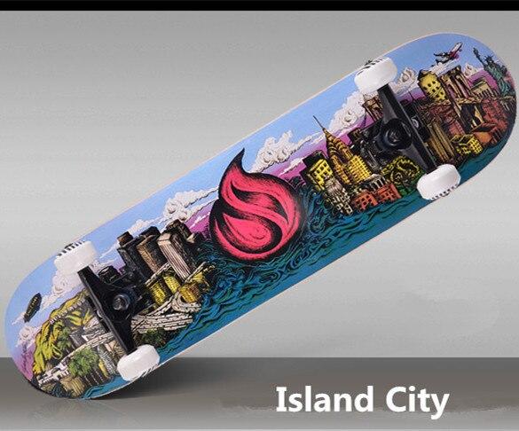 67 009 Panas Dijual Murah Dewasa Maple Profesional Sikat Jalanan Skateboard Baru Rol Waveboard Skate Board Di Dari Olahraga