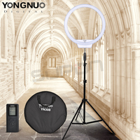 Yongnuo YN308 Bi Color Selfie Ring Light Led Studio Lights Photography 5500K Temperature Video Light Camera