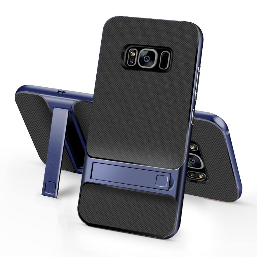 Pouzdro na módní brnění pro Samsung Galaxy J5 J7 2016 J510 J710 J3 2017 Pouzdro J2 Prime S8 Plus S7 C5 se stojánkem
