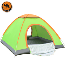 1-2 & 3-4 persons single layer throwing automatic travel tent BBQ outdoor camping picnic beach hiking family party tent