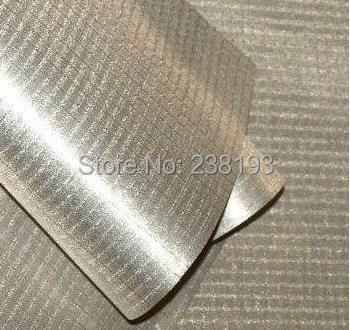 5m Copper-nickel Metal Grid Conductive Material Cloth, Electromagnetic Radiation Protection Fabric.rip-stop