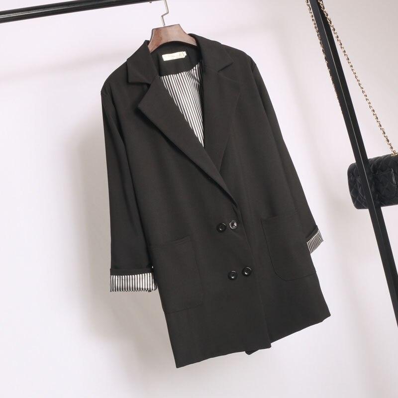 Пиджаки Для женщин Slim Fit Blazer пиджак цвета хаки серый плед для женщин; Большие размеры Повседневное Винтаж костюм пиджак женский