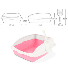 39*48*18cm High Quality Pet Toilet Cat Bedpan Litter Box  Tray Supply Dog Toilette Products Easy To Clean