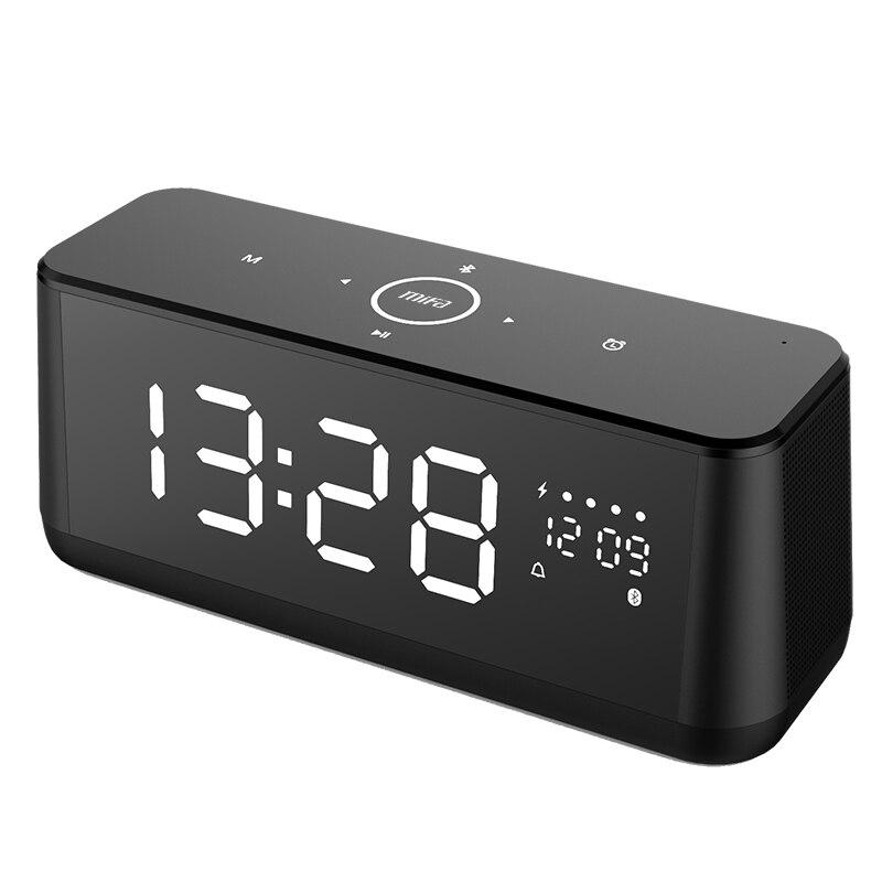 Mifa A30 Touch Control Altoparlante del Bluetooth Portatile con Display LCD Altoparlanti Stereo Senza Fili di Sostegno TF AUX Sveglia TWS