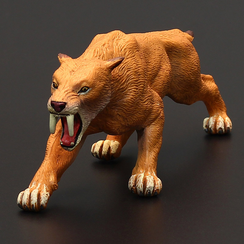 Children S Solid Simulation Ancient Toy Model Ice Age Saber