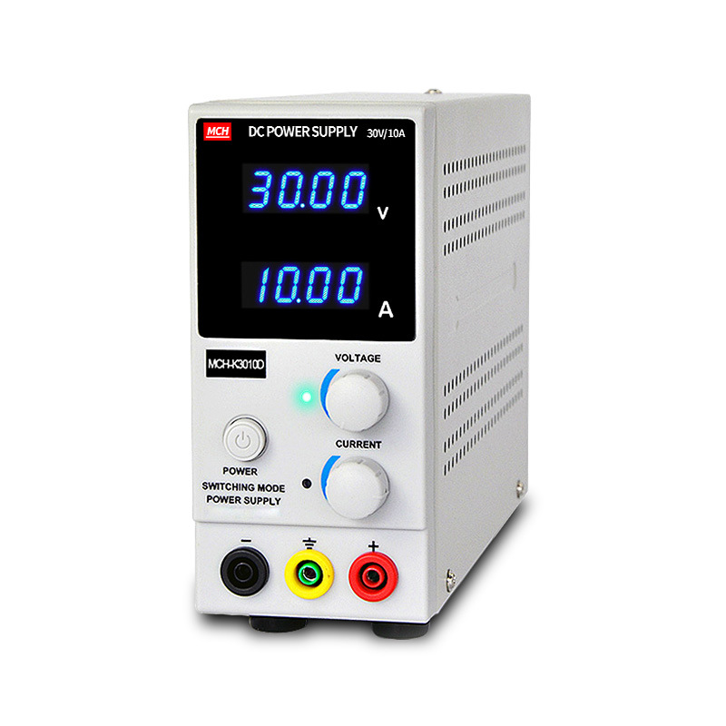 MCH-K3010D 0 ~ 30V 0 ~ 10A Portable Mini DC regulated Adjustable DC power supply Mobile phone / laptop repair power yihua 3010d 30v 10a adjustable regulated dc power supply for computer mobile phone repair test