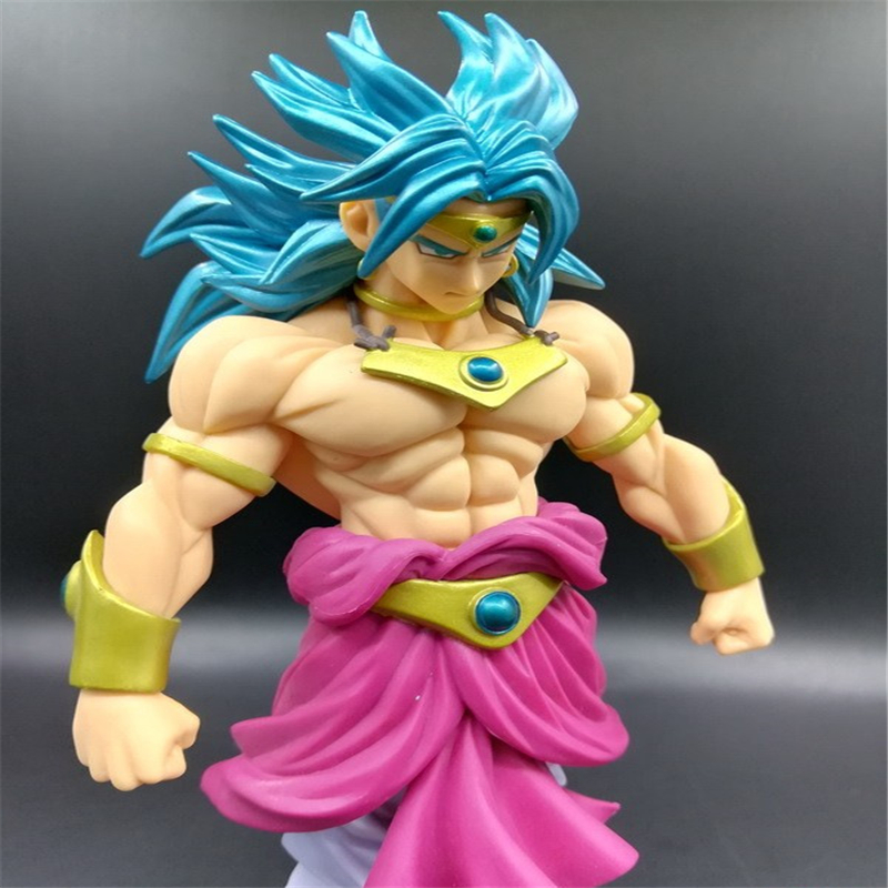 new Dragon Ball Z Super Saiyan Goku Son Gokou Broli Prince Vegeta Manga Trunks PVC Action Figure Model Collection Toy Gift (11)