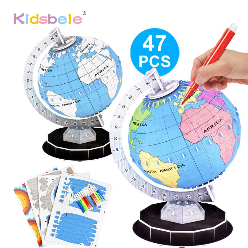 BEST LEARNING Magic Puzzle Globe Earth Puzzles Toys & Games