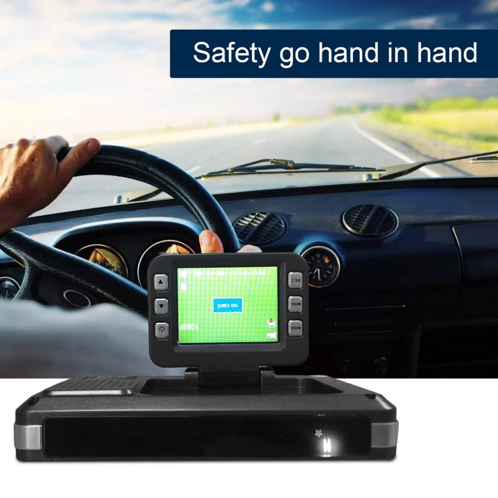 3 in 1 720P 140 Degrees Wide Angle Car DVR With Radar Detector + GPS Russian Pre-warning Data Recorder Carcorder цена