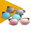 New fashion cat eye sunglasses mulheres designer de marca de luxo 2017 polarizada Óculos de Sol para As Mulheres Homens Gafas de sol Mujer Hombre