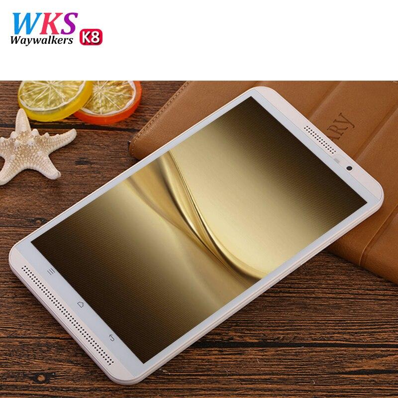WAYWALKERS 4 г Телефонный звонок Tablet PC Восьмиядерный 8 дюймов Full HD 1280*800 Android 6,0 4 ГБ оперативной памяти 64 ГБ Rom gps таблетки