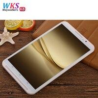 WAYWALKERS 4G телефонный звонок планшетный ПК Octa core дюймов 8 дюймов Full HD 800*6,0 Android 4G 4G B оперативная память 6 1280 встроенная gps планшеты