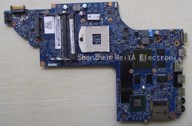 Frete grátis laptop motherboard 682171-001 para hp envy dv6 dv6-7000 630 m/2g notebook pc systemboard 682171-501