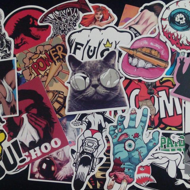 50pcs lot car styling sticker bomb decal vinyl roll car skate 50pcs lot car styling sticker bomb decal vinyl roll car skate skateboard laptop luggage bike altavistaventures Image collections