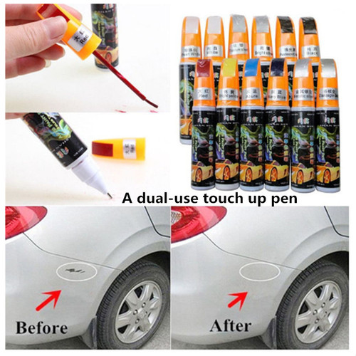 6 Colors 12ml New Professional Car Paint Repair Pen Waterproof Clear Car Scratch Remover Painting Pens For All Kinds Of Cars