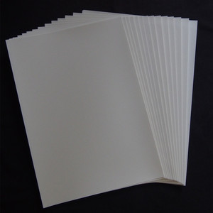 Image 2 - (20 piezas = 10 transparente + 10 blanco) Papel para calcomanías de inyección de tinta, papel de transferencia de impresión de tamaño A4, papel para calcomanías de agua para placas