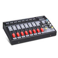 G-MARK 8 channels Mini portable mixer audio console Mono/Stereo Sound system Extended for instrument microphone Power Adapter