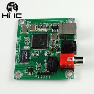 Image 2 - HIFI CM6631A interfejs cyfrowy DAC 24Bit 192 K karta dźwiękowa USB do SPDIF wyjście koncentryczne podłączyć dekoder nie obsługuje DTS
