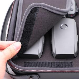 Image 3 - PGYTECH DJI Mavic 2 برو التكبير بولي EVA إيفا الكتف حقيبة يد مضادة للماء ل Mavic 2 الطائرة بدون طيار تحمل صندوق تخزين من الألومنيوم