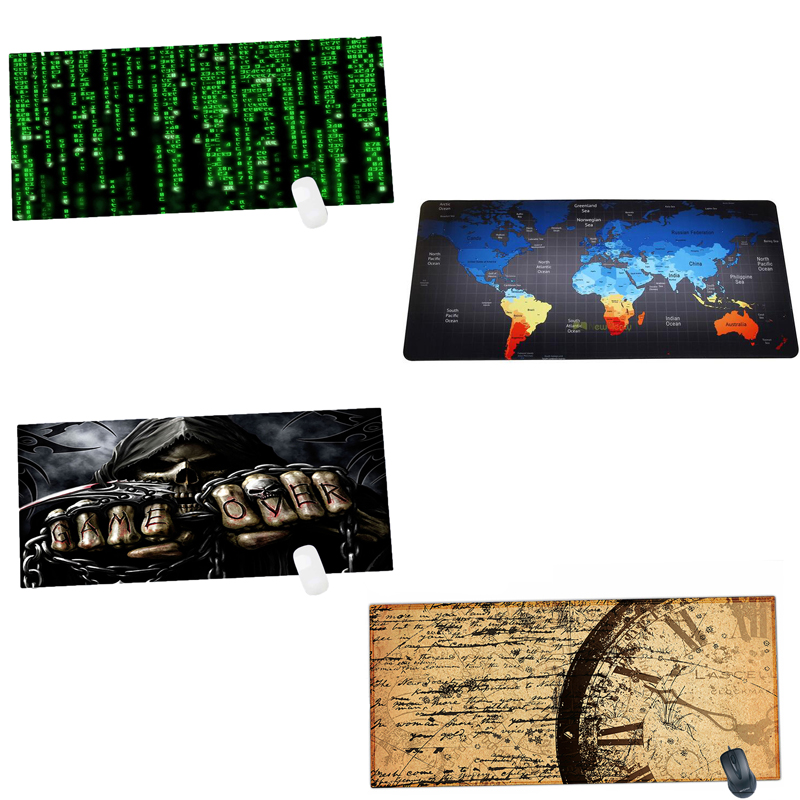 Newest Non-slip Gaming Mouse Pad 900x400mm Large Mousepad Rubber Computer Laptop Keyboard Mousepad Viviration Soft Mouse Mat Pad
