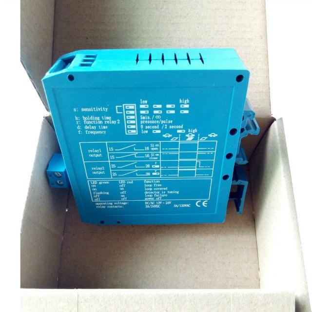 Security  DC12V/24V Vehicle Magnetic Loop Detector Loop For Traffic Barriers