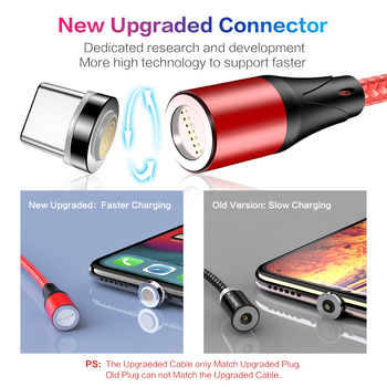 FLOVEME Magnetic Charger Micro Usb Cable For iphone Usb Type C Fast Charging Adapter Magnet Charger Wire For Samsung Xiaomi Cord 1