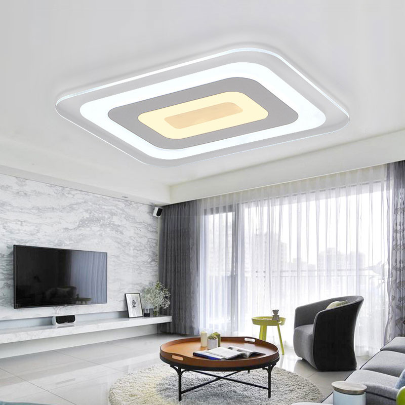 Led plafond lampes, moderne minimaliste salon lampes chaud chambre ...