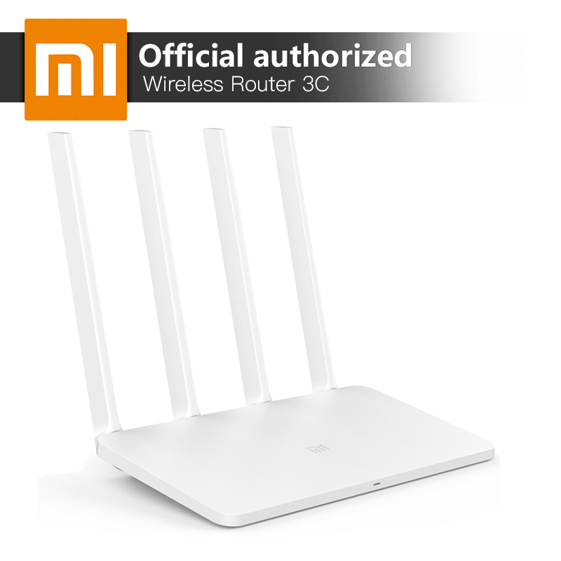 Xiaomi MI WiFi Router 3C 2.4GHz Smart WiFi Repeater 4 Antennas 802.11n 300Mbps APP Control Wireless Routers Repetidor 64GB RAM