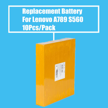 New Arrival 10Pcs/Pack 2000mah Replacement Battery for Lenovo A789 P70 S560 High Quality