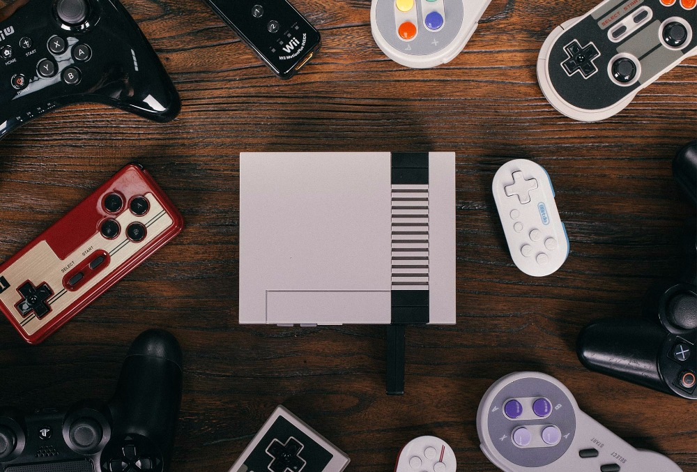 8BitDo Bluetooth Retro Receiver Adapter for Mini NES Classic Edition Support Switch Gamepad All 8BitDo controllers 10